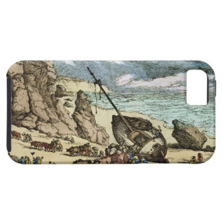 Clearing a Wreck on the North Coast of Cornwall, f iPhone 5 Case