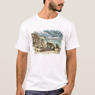 Clearing a Wreck on the North Coast of Cornwall, f T-Shirt