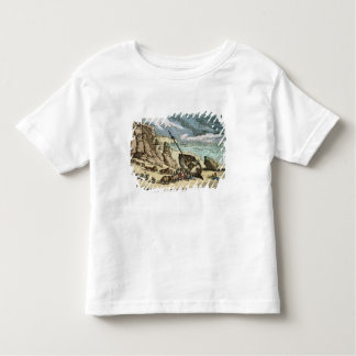 Clearing a Wreck on the North Coast of Cornwall, f Toddler T-Shirt