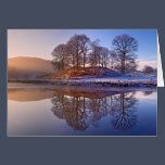 Clearing mist and River Brathay Reflections Card