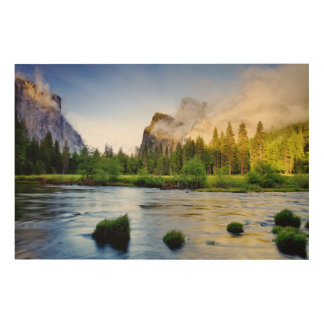 Clearing Storm Wood Wall Art