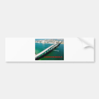 CLEARWATER BEACH FLORIDA BUMPER STICKER