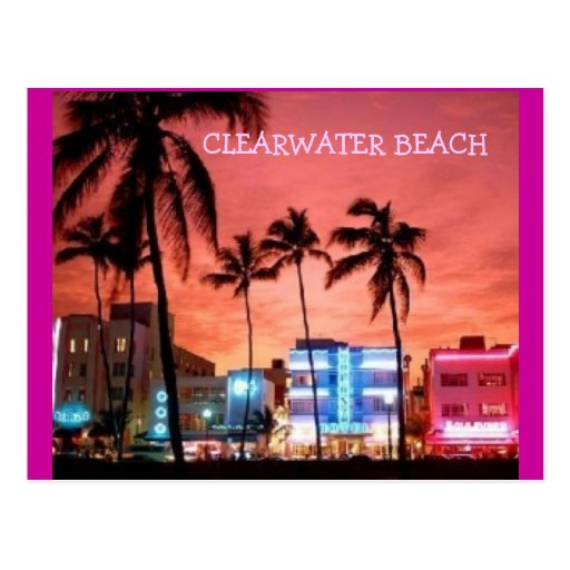 CLEARWATER, FLORIDA POST CARD