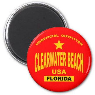 clearwater-gold 6 cm round magnet