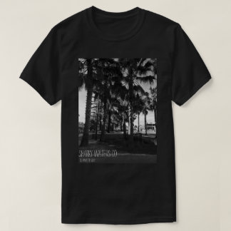 Clearwater Palm Trees B&W Picture Tee