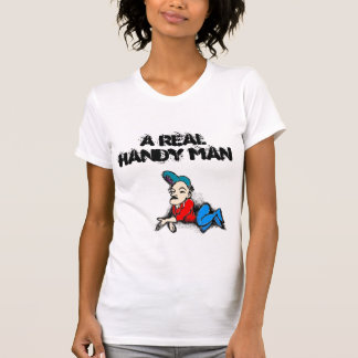 cleave, A real handy man T-Shirt