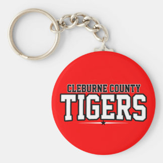 Cleburne County High School; Tigers Keychains