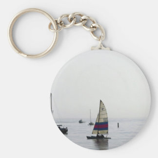 Cleethorpes early morning sailing key ring