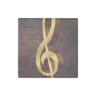 Clef Stone Magnet