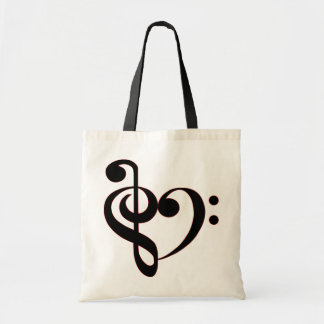 Clef Heart Bag