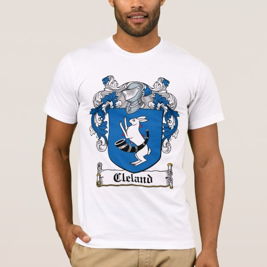 Cleland Family Crest T-Shirt