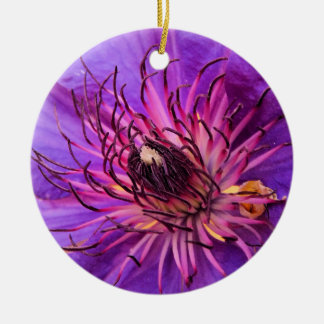 CLEMATIS CHRISTMAS ORNAMENT