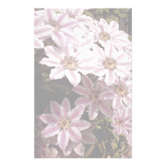 Clematis Customised Stationery