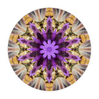 CLEMATIS CUTTING BOARD