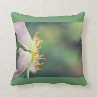 Clematis flower in close up cushion