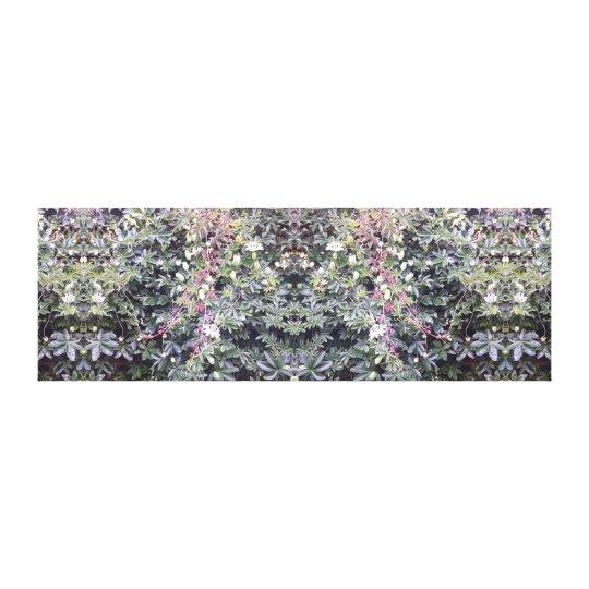 Clematis Flower Mirror 714 Canvas