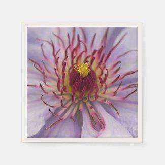 Clematis Flower Paper Napkins