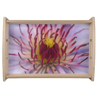 Clematis Flower Serving Tray