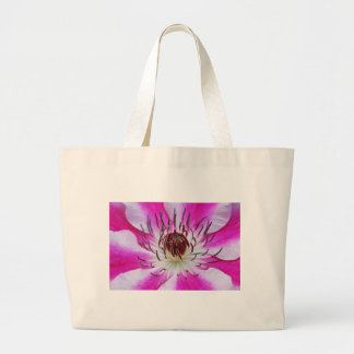 Clematis Flowers Flower Plant Garden Tote Bag