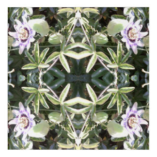 Clematis Fractal Acrylic Print
