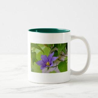Clematis Two-Tone Coffee Mug