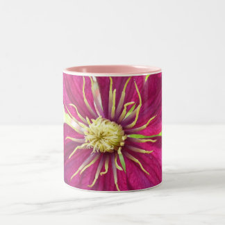 Clematis Two-Tone Coffee Mug
