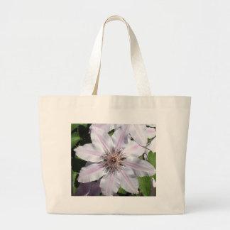 Clematis Vine Canvas Bags