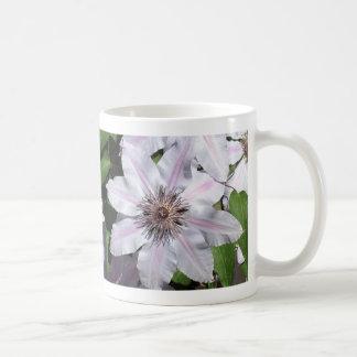 Clematis Vine Basic White Mug
