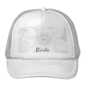 ClematisPostcard3b, Bride Trucker Hats