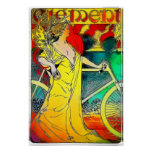 Clement Bicycles Vintage Advertisement Poster