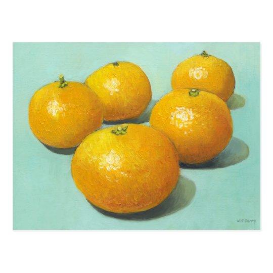 Clementines Still-life - II Postcard
