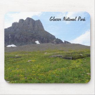 Clements Mountain- Glacier National Park Mouse Mat