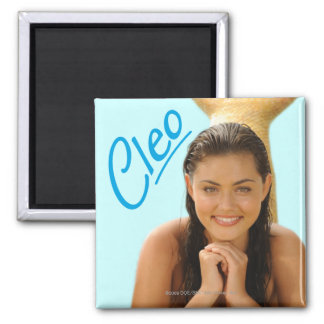 Cleo Square Magnet