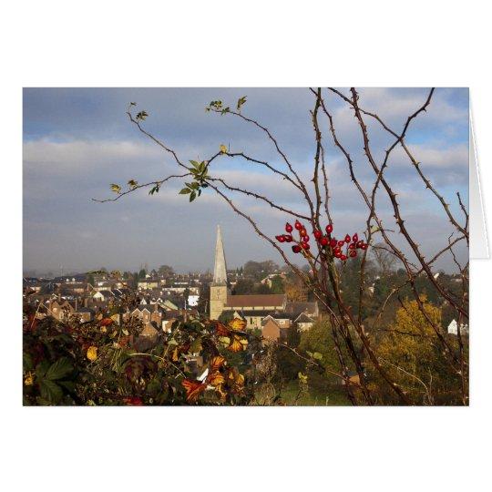 Cleobury Mortimer. Shropshire. England. UK Card