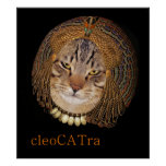CleoCATra plays Cleopatra Poster