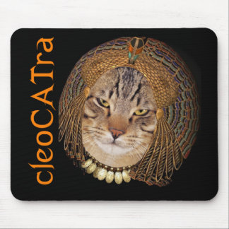 CleoCATra Queen of the Guile Mouse Pad