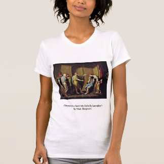 Cleombrotus Sent Into Exile By Leonidas Ii T Shirts
