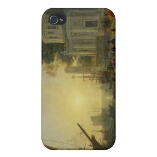 Cleopatra Disembarking at Tarsus, 1642 Case For The iPhone 4