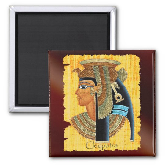 """Cleopatra"" Queen of Ancient Egypt Art Magnets"