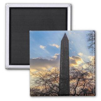 Cleopatra's Needle/Obelisk in Central Park Square Magnet