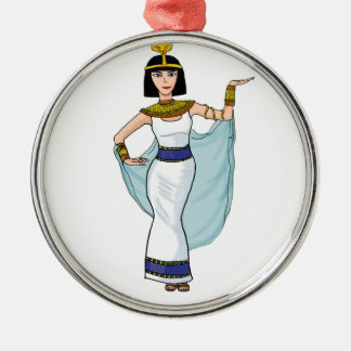 Cleopatra the Pharaoh of Egypt Christmas Ornament