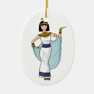 Cleopatra the Pharaoh of Egypt Christmas Ornament