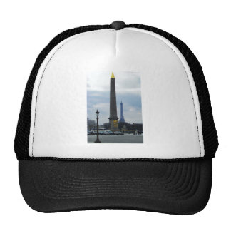 Cleopatra's Needle and Eiffel Tower Cap