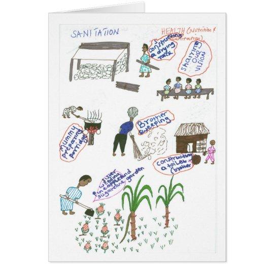 Cleophus' Sanitation Plan Card