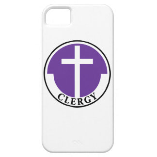 Clergy in Purple iPhone 5 Cases