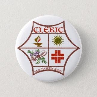 Cleric 6 Cm Round Badge