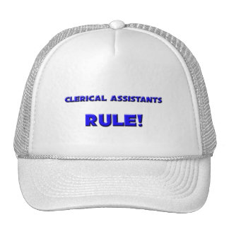 Clerical Assistants Rule! Mesh Hat