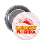 Clermont, Florida Pinback Button