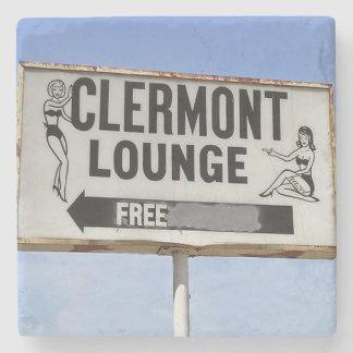 Clermont Lounge Atlanta Landmark Marble Coaster Stone Beverage Coaster