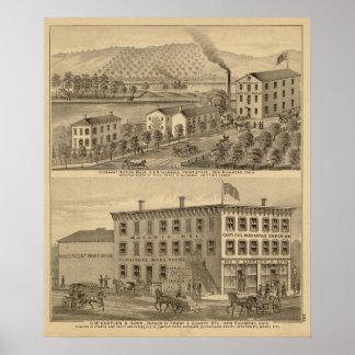 Clermont Woolen Mills Print
